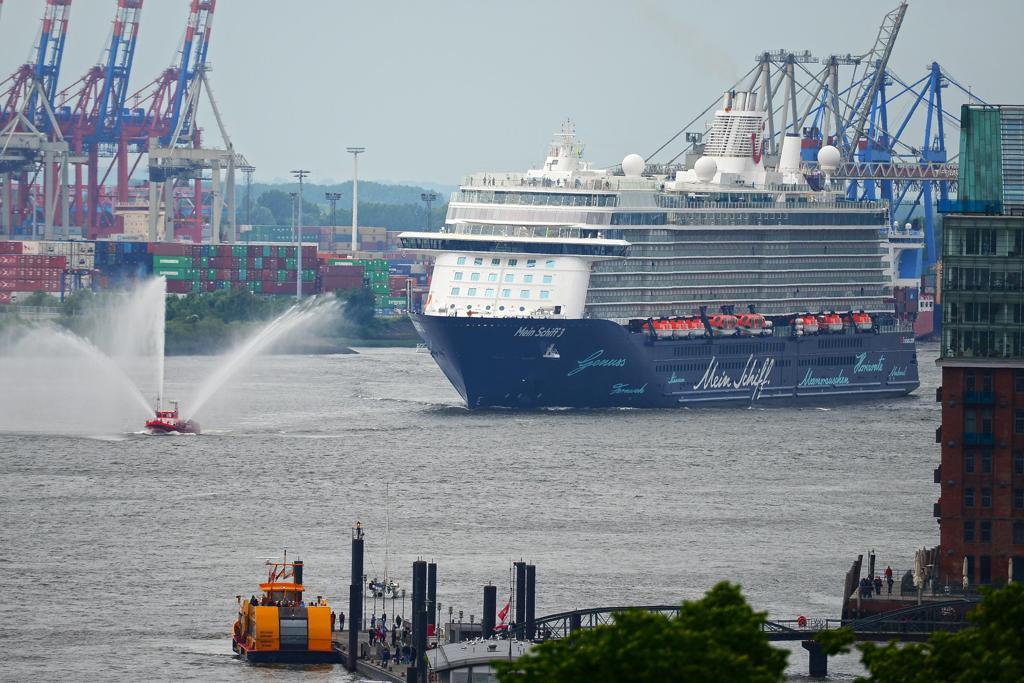 Schiffsbegrüßung