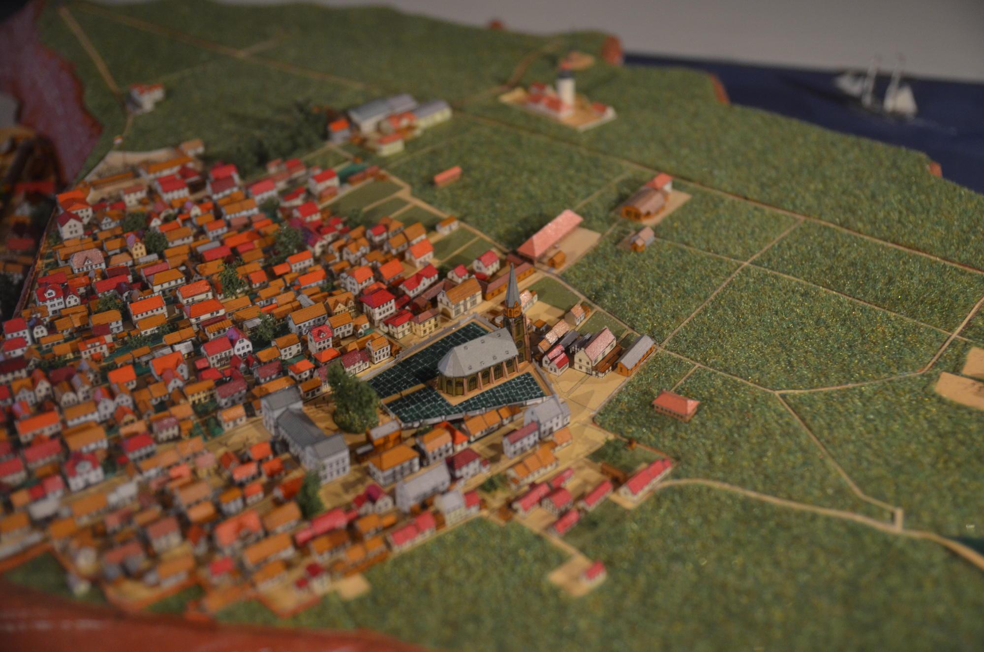 Helgoland Diorama