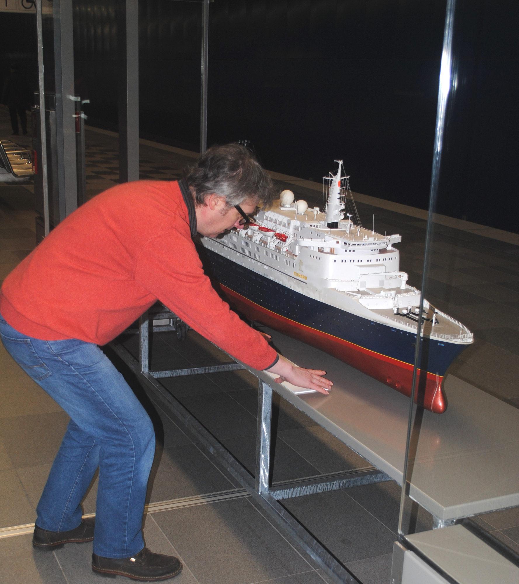 Modell Haltestelle Überseequartier - Foto P.v. Klösterlein