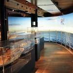 Passagierschifffahrt und Kreuzfahrt-Feeling auf Deck 6. ©vdl