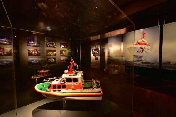 DGzRS - Ausstellung im Maritimen Museum