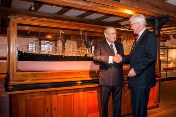 Prof. Peter Tamm und Dr. Manfred G. Bullinger
