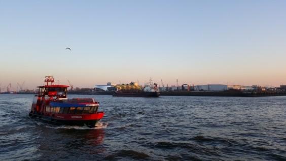 Der Hamburger Hafen ist #myportforTurku