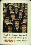 "Recruiting poster, U.S. Navy ""WAVES"" (World War II)"
