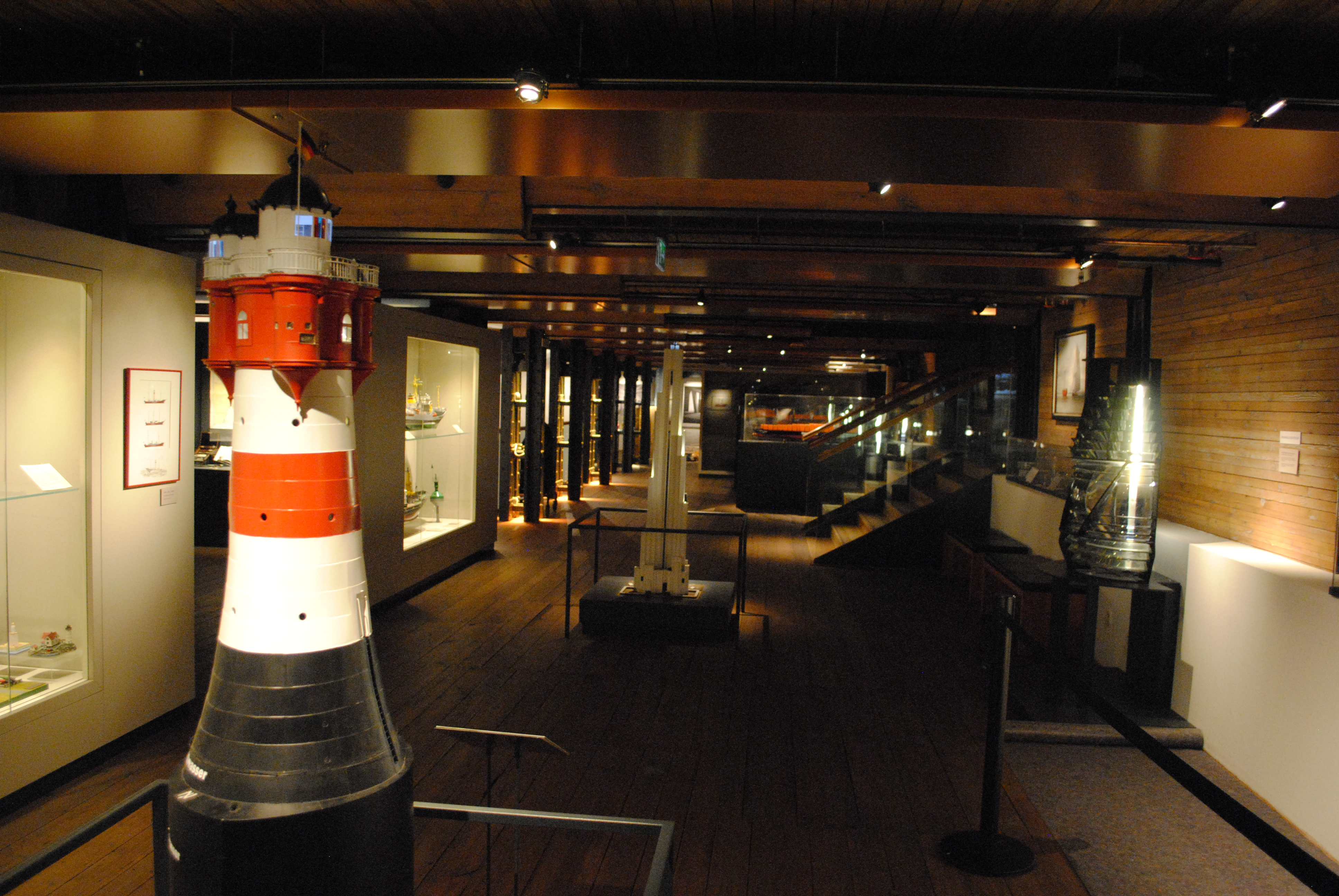 Maritime Beleuchtung nachhaltigkeitsprojekte im museum immhimmh