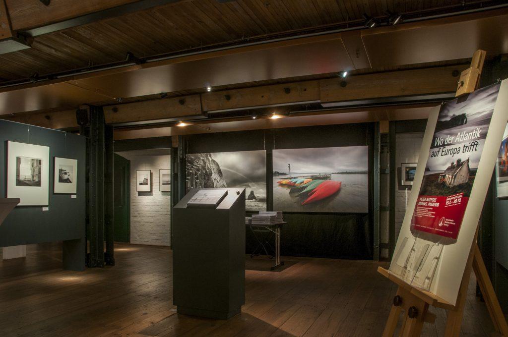 """Die Ausstellung """"Wo der Atlantik auf europa trifft"""" wird bis zum 30. November im IMMH gezeigt."""