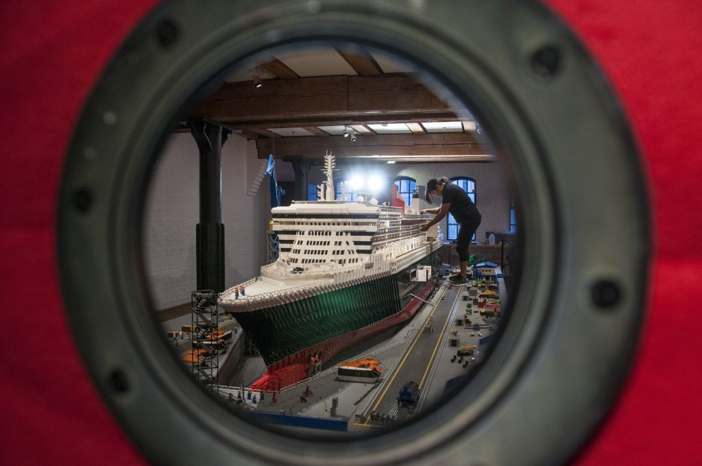 Lego-Queen Mary 2 (Foto: Alan Ginsburg)
