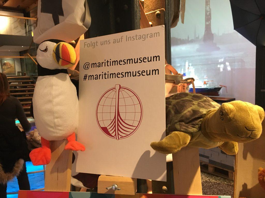 Ihr könnt natürlich uns auch unter @maritimesmuseum auf Instagram folgen.