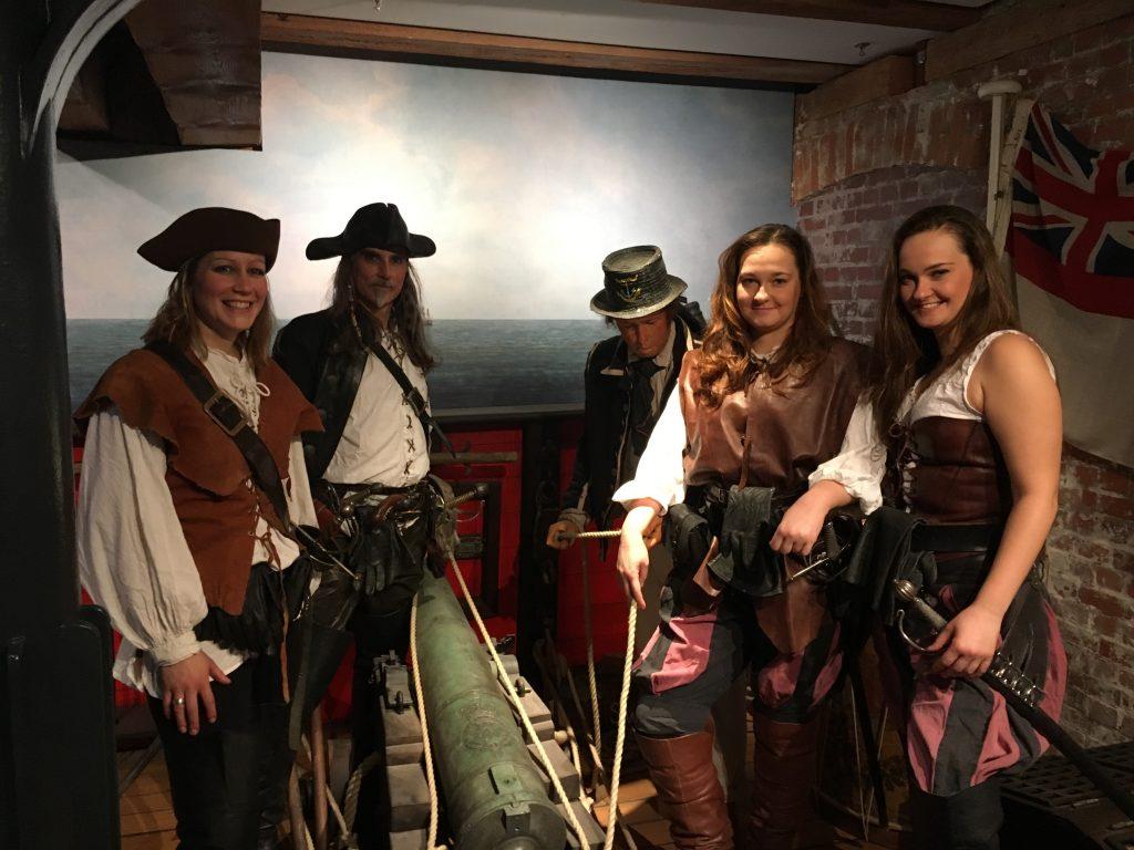 Piraten Ahoi Familiensonntag Maritimes Museum Hamburg