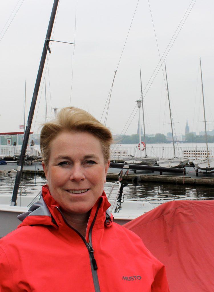 Segelbild Heinke Böhnert Maritme Malerei Segel Segelsport Malerin Internationales Maritimes Museum Hamburg