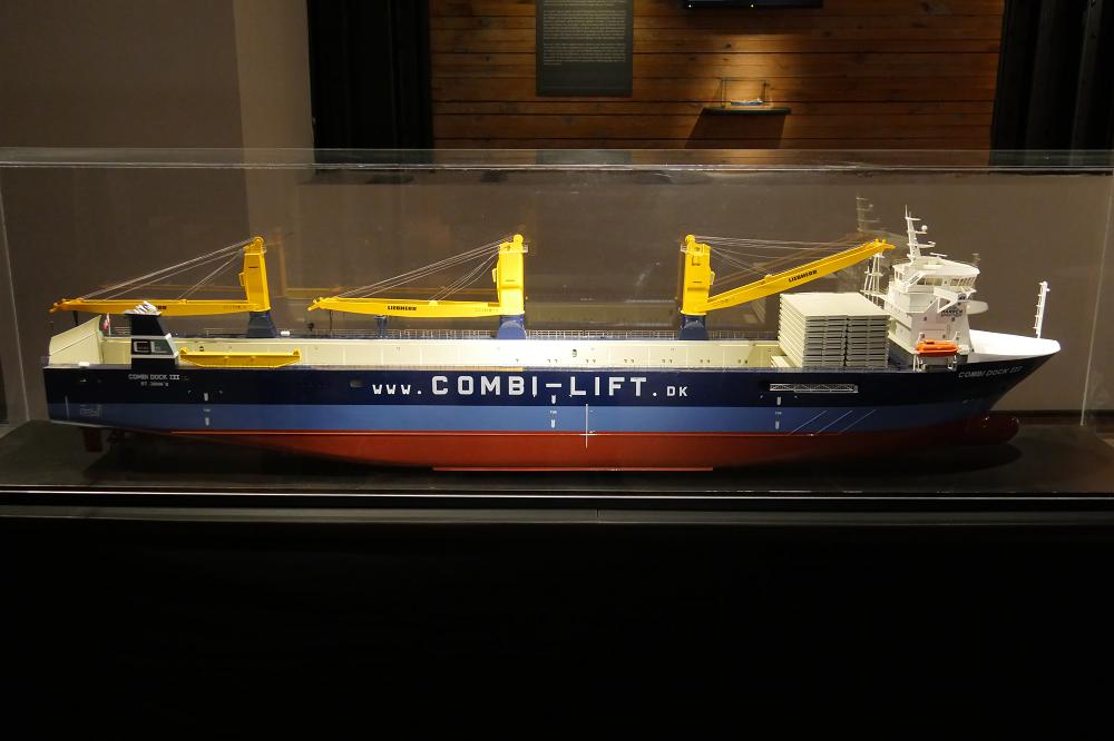 Peking Hamburg Galionsfigur Internationales Maritimes Museum Hamburg Schiff Schiffahrt Ausstellung Sonderausstellung Flying P-Liner Schiffahrt 2018 Combi Dock III Dockschiff