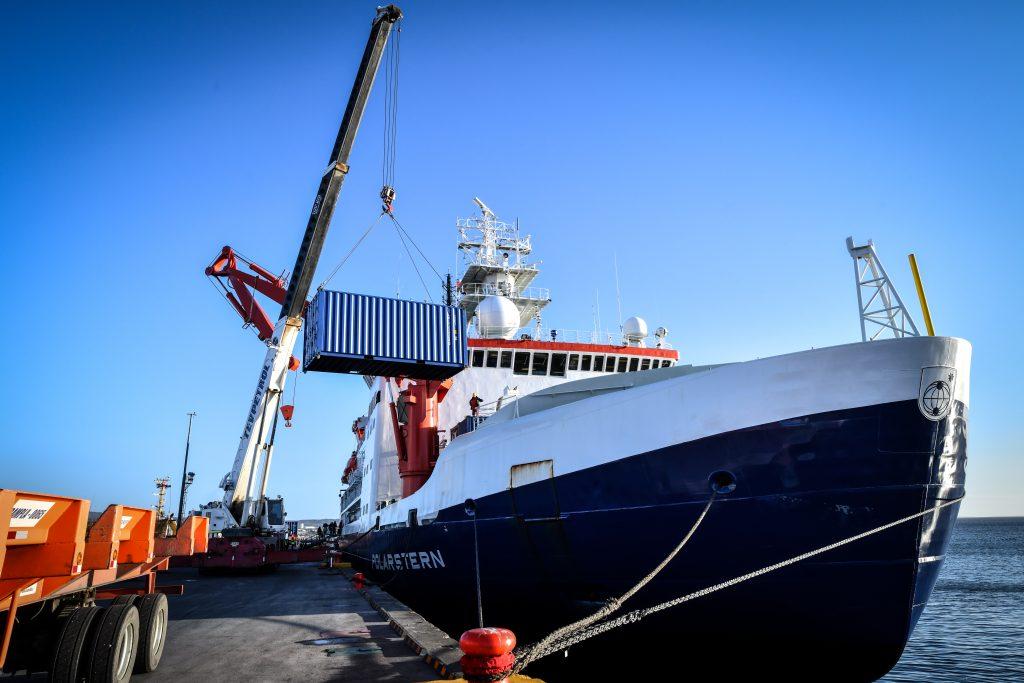 Eisbrecher Forschungsschiff Polarstern Marum Meeresforschung Lange Nacht der Museen Hamburg 2019 Internationales Maritimes Museum Hamburg Videochat Event Veranstaltung