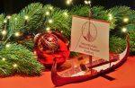 Der Modellbaubogen des IMMH Wikingerschiff als Weihnachtsgeschenk.