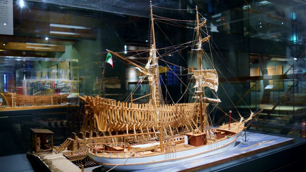 Deck 3: the History of Shipbuilding - from Craft to Schience. International Maritime Museum Hamburg.