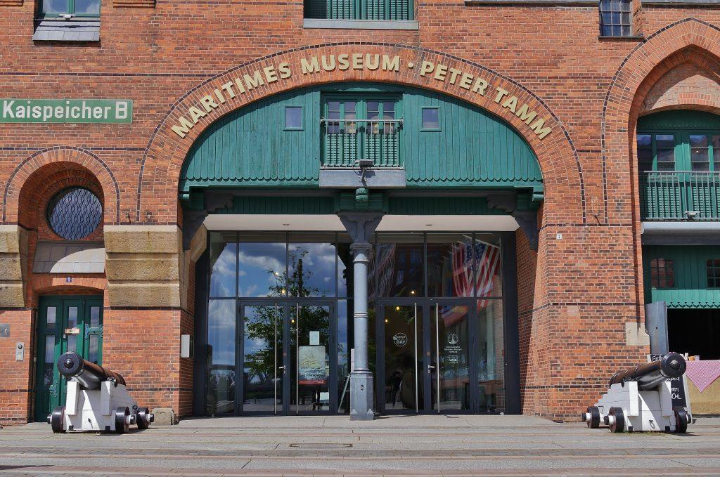 Die Wiedereröffnung: das Internationale Maritime Museum Hamburg wieder seine Pforten.