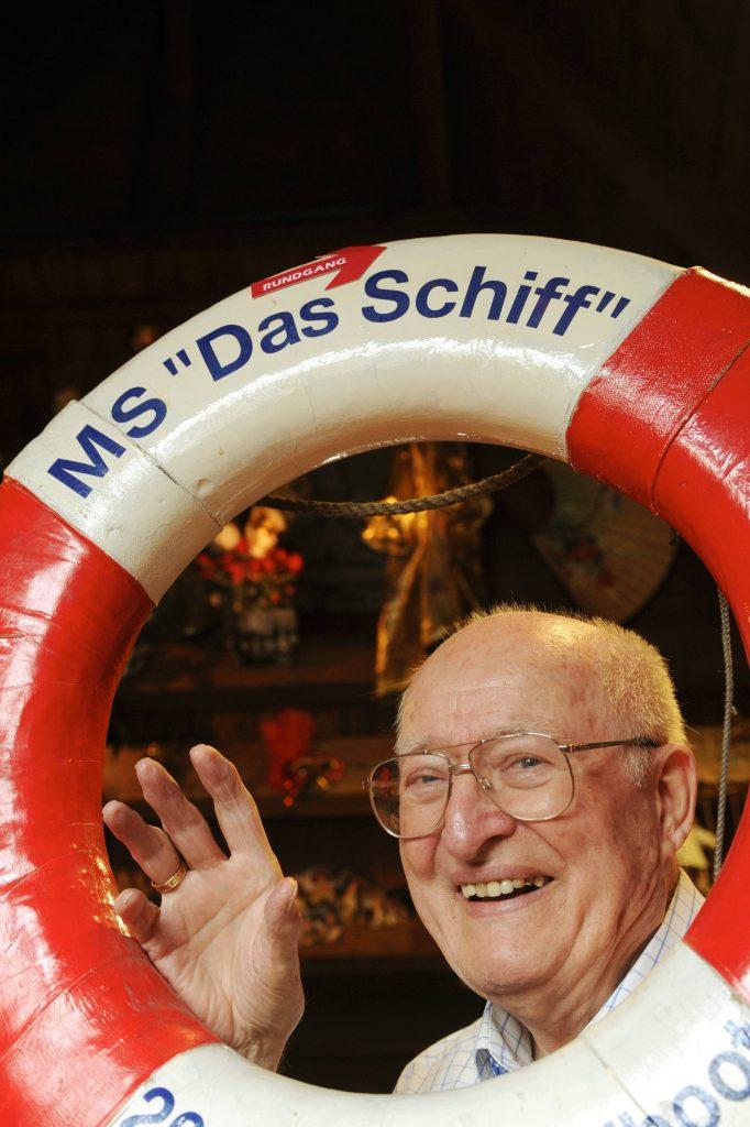 Hamburg ; Eberhard Möbius im Maritimen Museum IMMH , Deck 10 ( Sammlung Peter Tamm ) Foto : Michael Zapf Foto : Michael Zapf Pressefotografie