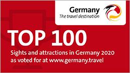Top 100 Sehenswürdigkeiten in Deutschland 2020