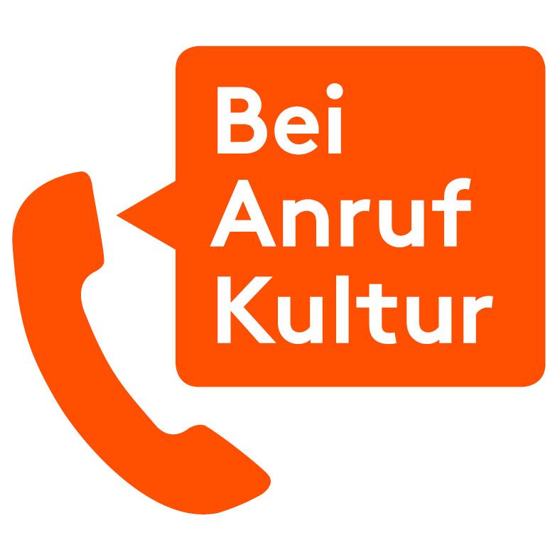 "Logo des Projekts ""Bei Anruf Kultur"""