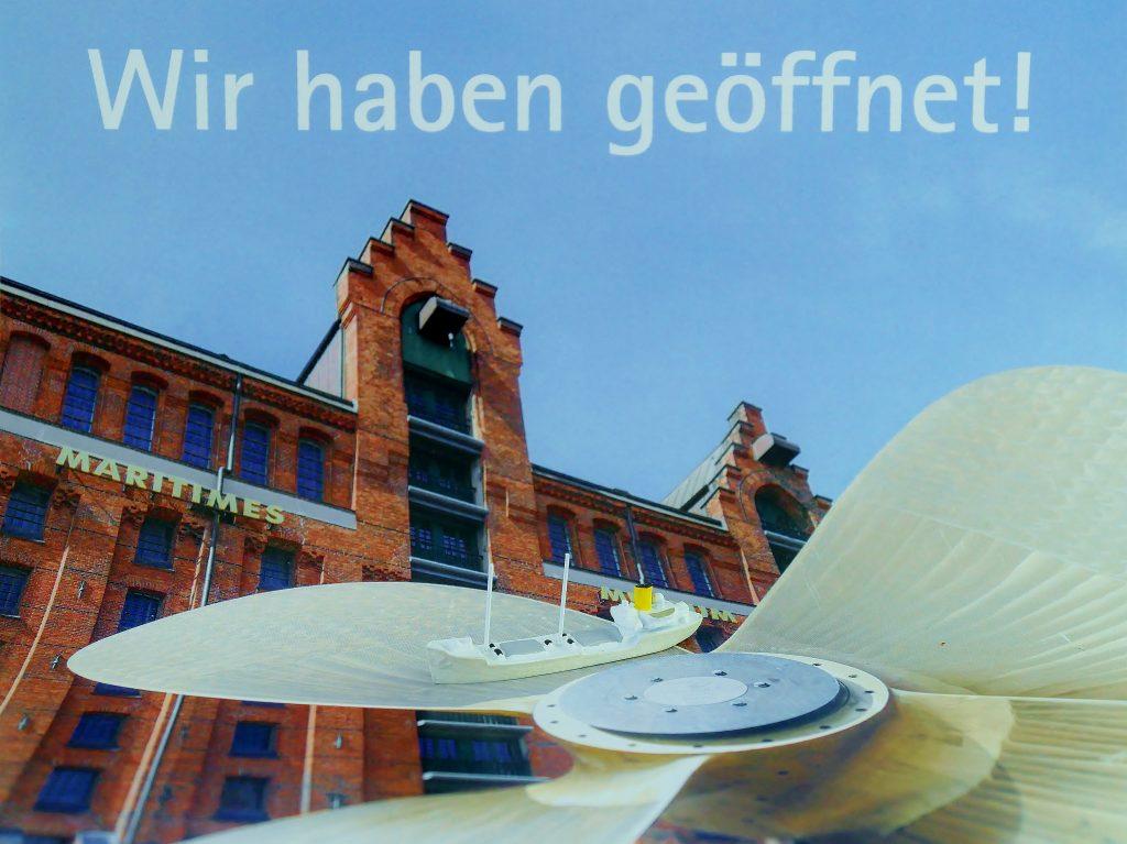 "Schiffsminiatur des ""Tamm I"", Internationales Maritimes Museum Hamburg."