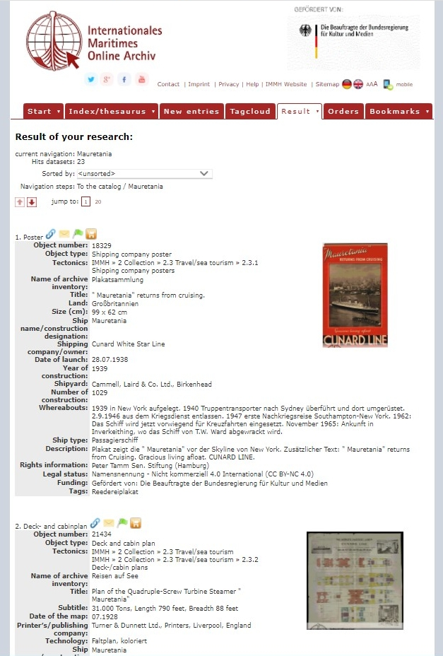 Manual for the Online Archive. Image 3.