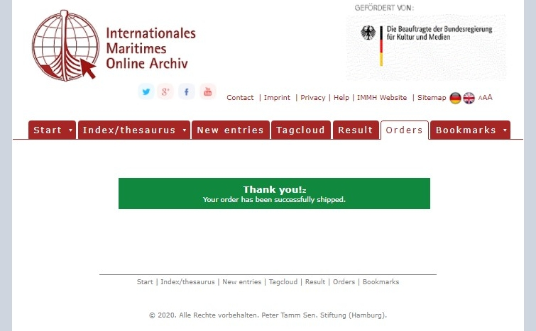 Manual for the Online Archive. Image 5.