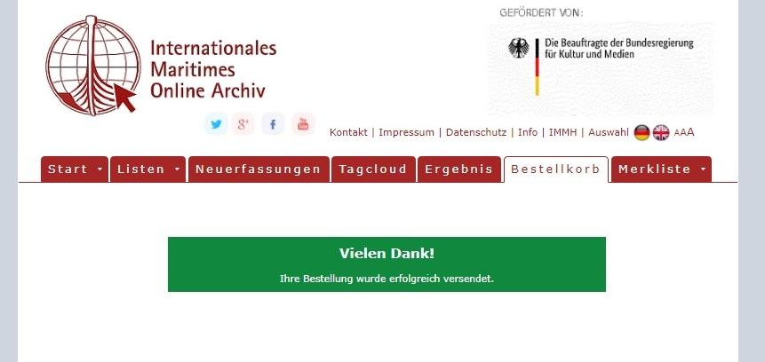 Anleitung für das Online-Archiv. Abbildung 5.