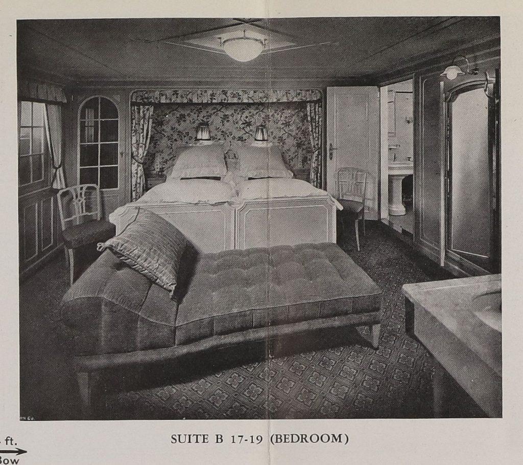 """Prospekt mit Decks- und Kabinenpläne der S.S. """"Hamburg"""" (1930, R-1-2047) aus den Online Archiv des Internationalen Maritimen Museum Hamburg."""